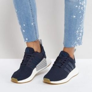 Adidas NMD R2 Navy Shoes